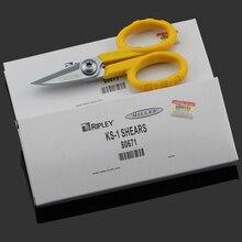 10 pièces/lot fibre optique Miller KS 1 Kevlar cisailles/Kavlar ciseaux/Kavalr Cutter, Miller KS 1 cisailles, livraison gratuite