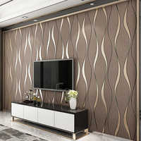 3D Gestreifte Tapete Für Wände Rollen Wohnzimmer TV Hintergrund Wand Dekoration Papier Wand Papers Home Decor Moderne Papier Peint