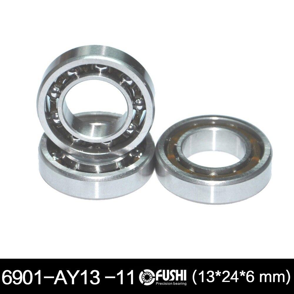 6901UG RC Motores rodamiento 13x24x6mm ABEC-3 (1 unid) 6901 UG ID 13mm con 11 bolas Glow Plug modelo R/C Motores bola Rodamientos