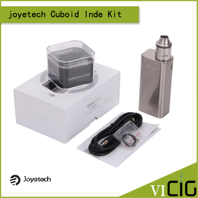 100% Original Joyetech CUBOID Temperature Control 150W OLED Screen Box Mod with Firmware Upgradeable Function