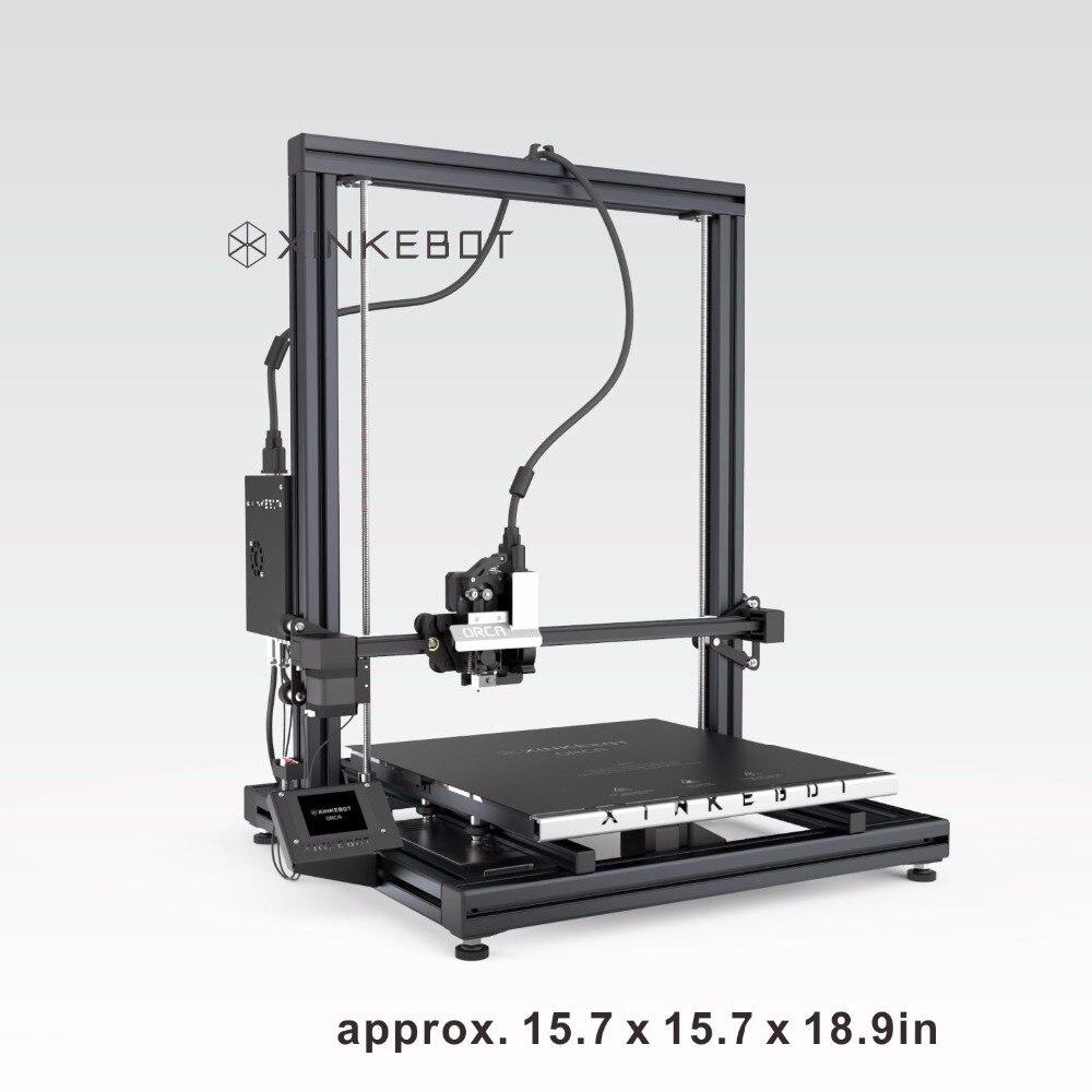 Tamaño grande Impresora 3D XINKEBOT Orca2 Cygnus 0.05mm Capa de Espesor de Alta