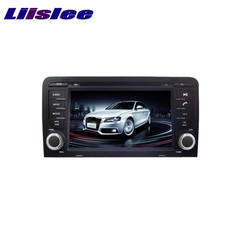 For AUDI A3 8P 2003~2012 LiisLee Car Multimedia TV DVD GPS Audio Hi-Fi Radio Stereo Original Style Navigation NAVI original new den so dvd navigation mechanism rae3370 for toyo ta b9004 b9001 vw mercedes lexuss audi 2g car audio gps