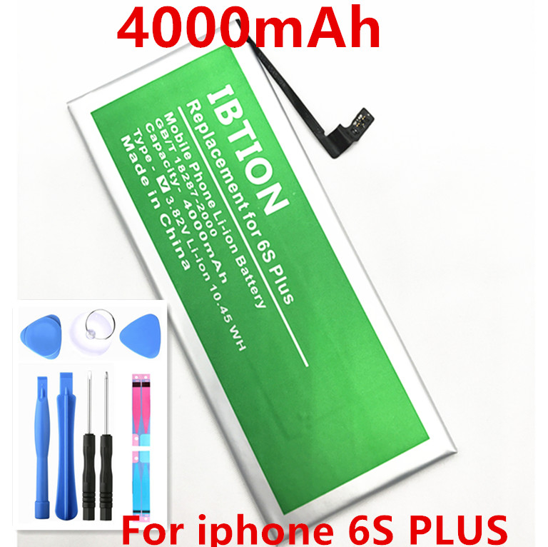 IBTION Battery Apple IPhone 6s 4000mah PLUS Original For With Free-Tools