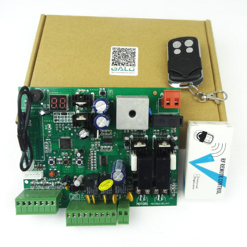 swing door control panel board Universal use double automatic arm , motor 24V DC PCB (remote option)swing door control panel board Universal use double automatic arm , motor 24V DC PCB (remote option)