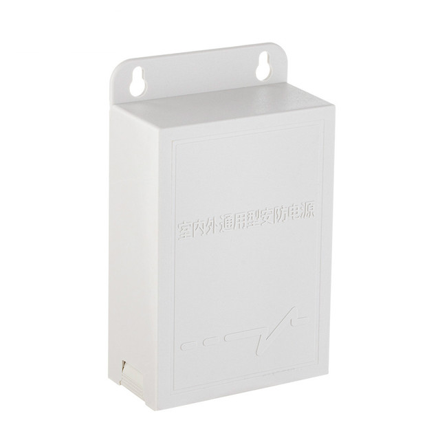 ESCAM Adaptador de fuente de alimentación para cámara de seguridad CCTV, impermeable, para exteriores, 12V, 2A, cámaras de vigilancia de seguridad, conexión de cámara de alimentación
