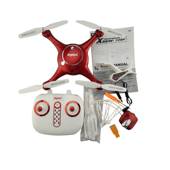 Best Christmas Gift SYMA X5UW Aerial UAV font b RC b font Drones With FPV Real