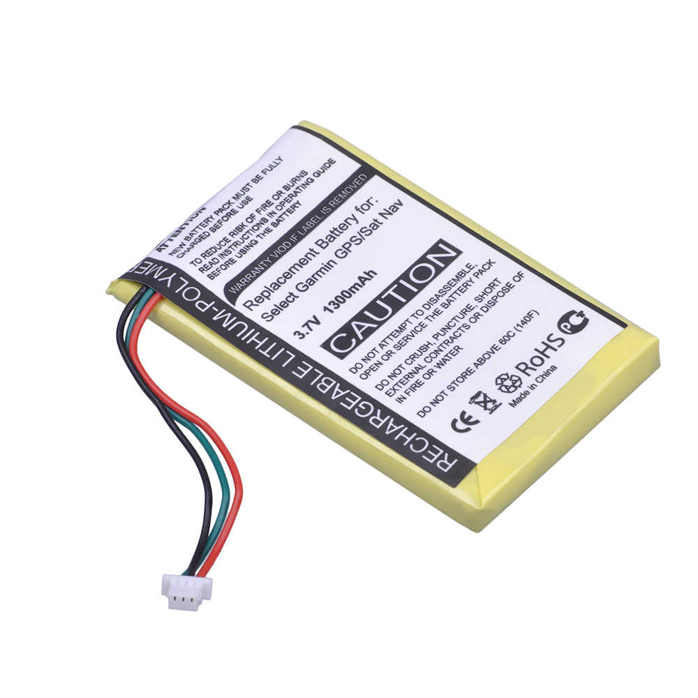 Durapro 1 PC 1300 mAh 3 7 V GPS / SAT Rechargeable Battery for Garmin Nuvi  200, 200 W, 205, 205 W, 205WT, 250 252 W, 265 W