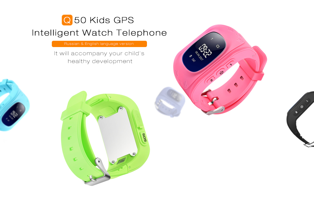 Digital Watches Humorous Children Smart Watch Safe-keeper Sos Call Anti-lost Monitor Real Time Tracker Base Station Location Gps Watch Smartwatch For K Easy And Simple To Handle