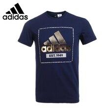 Original New Arrival 2017 Adidas GFX TEE PL F Men's T-shirts short sleeve Sportswear