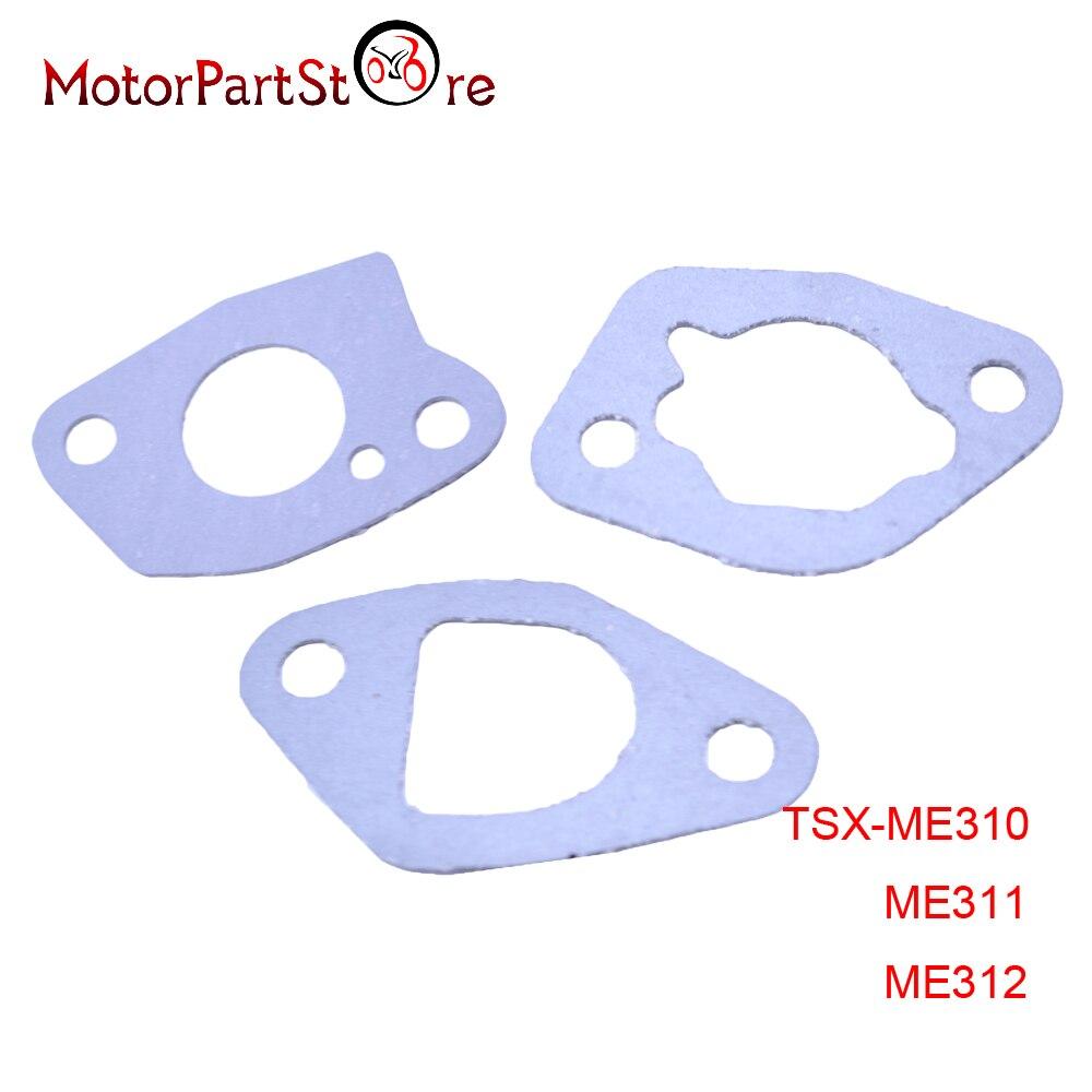 3 sztuk Carb gaźnika uszczelki papierowe dla Honda GX160 GX168 GX200 silnika gokarty silnika D30