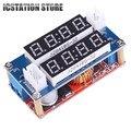 5V-30V 5A Red Current Voltage Display Step Down Module LED Panel Meter