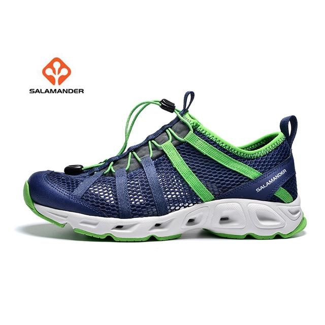 SALAMANDER Men s Summer Water Aqua Shoes Sneakers For Men Outdoor Trekking  Hiking Sandals Fishing Shoes Man Climbing Mountain 8a00494dbaca