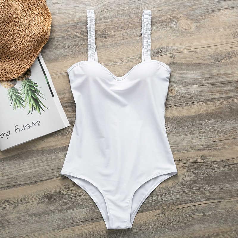 f36ef96c60d6ce ... Peachtan Sexy white bikini push up swimwear 2019 bathing suit women  bathers swimsuit one piece Monokini