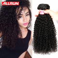 Brazilian Kinky Curly Virgin Hair 4pcs Curly Weave Human Hair Extensions No Tangle Afro Kinky Curly Brazilian Curly Virgin Hair
