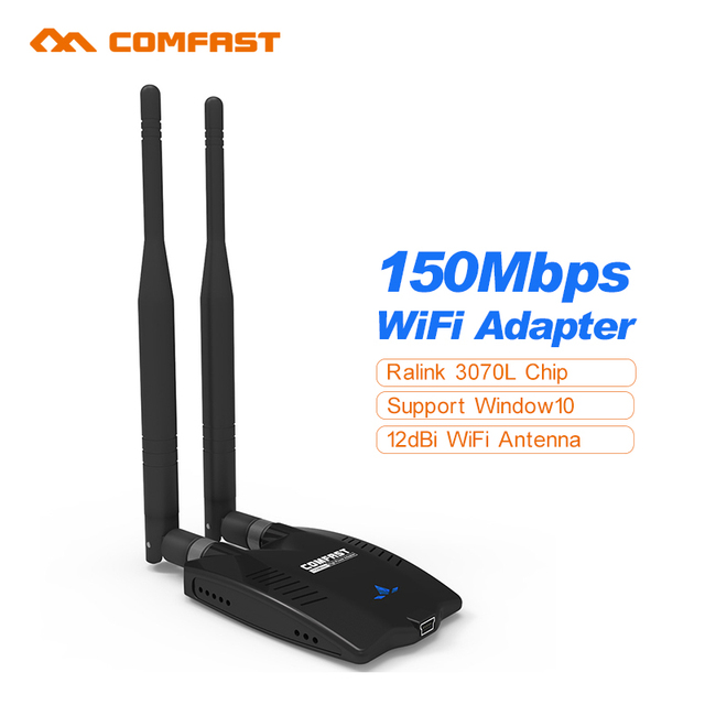 Longue Portée Comfast Usb Wifi Adaptateurs M Carte Réseau Sans - Antenne wifi usb longue portée