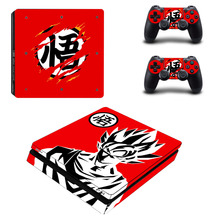 Dragon Ball Super PS4 Slim Skin Sticker and Controller For Dualshock 4 PS4 Slim Sticker