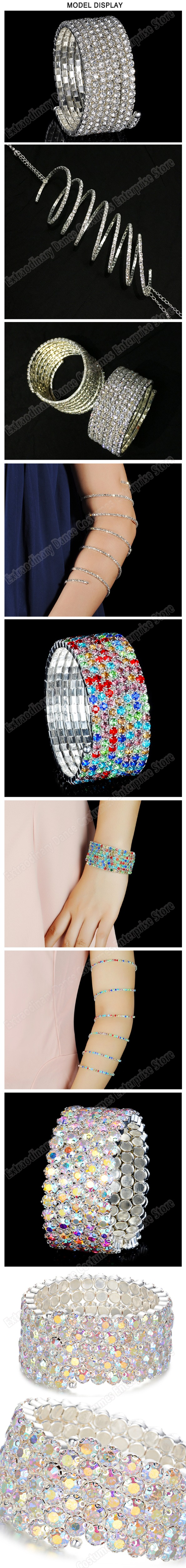 ee2d2c6a65b Belly Dance Accessories Women Arm Cuff decoration Armband Bangle Spiral  Upper Arm Bracelet Women jewelry Party BarceletsUSD 7.60-14.60/piece ...
