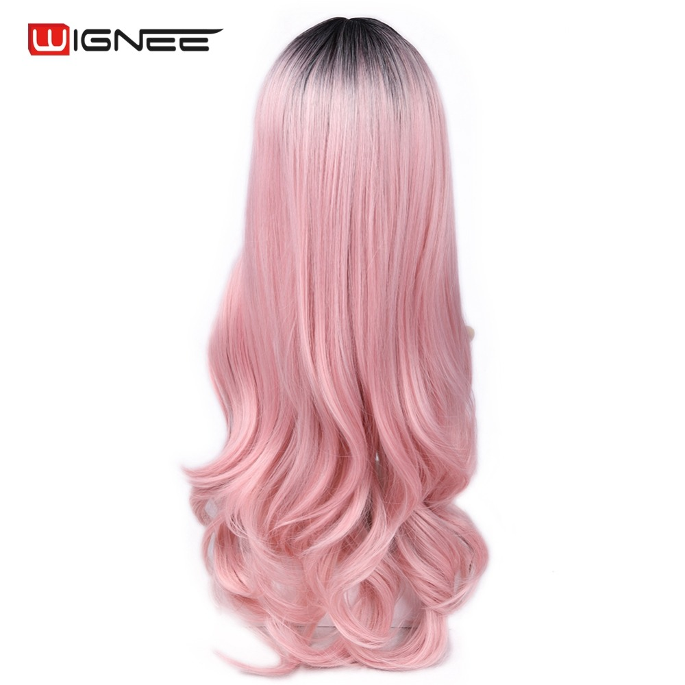 hot sale wignee long body wave synthetic halloween wig for women