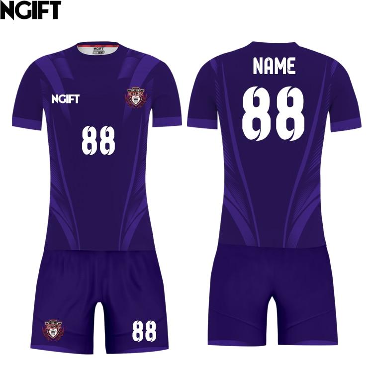 f509694814f6 Ngift sublimated customize soccer jersey blazer football team uniform OEM  logos