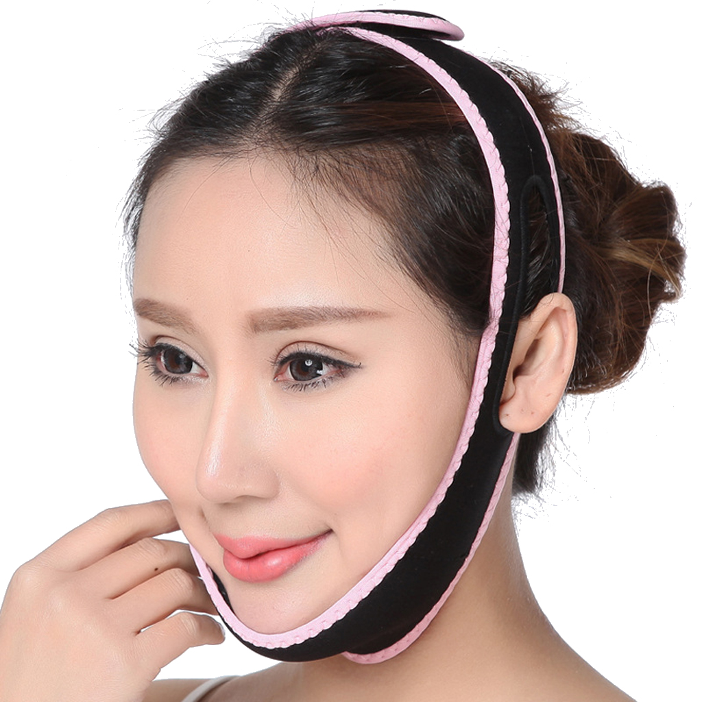 3D Face Slim Shaping Cheek Lift Up Sleeping Belt Cheek Scalp Face Shaper Belt Anti Wrinkle Strap Face