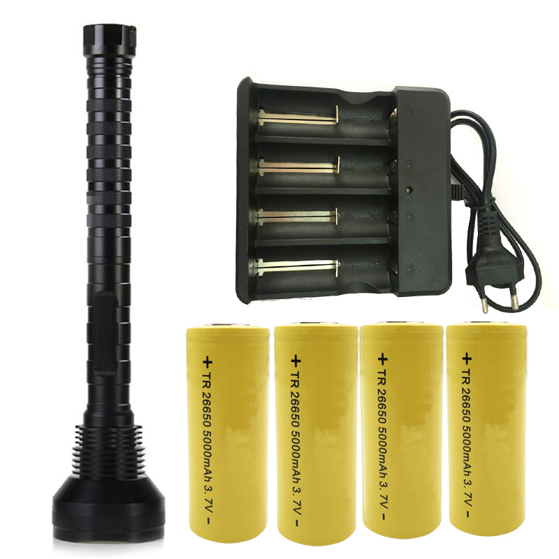 Z20310 Powerful 28 chips XML T6 Aluminum Waterproof LED Flashlight Torch Power by 4pcs 18650 or 26650 Batteries sitemap 28 xml