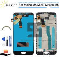 AA + Qualität LCD + Rahmen Für Mei zu M5 M5 Mini M611D LCD Display Touchscreen Digitizer Montage Für meilan M5 M611A M611Y M611H