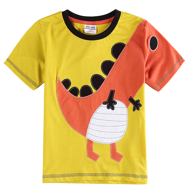 dinosaurs printed children t shirts 2015 new arrive boy clothing summer style brand kids clothes short sleeve boys shirts C6186Y