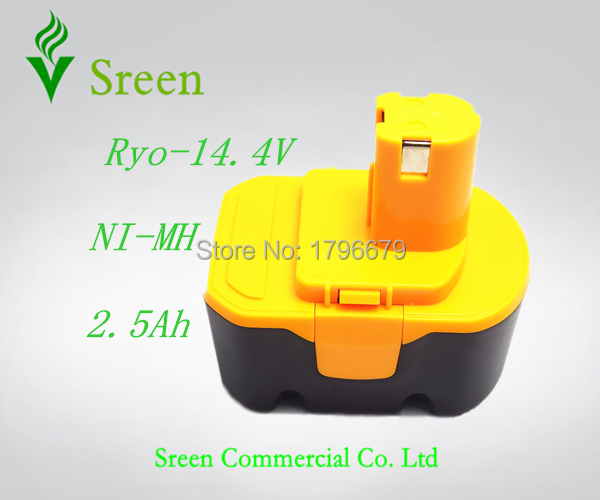 New 2500mAh Rechargeable 14.4V NI-MH Replacement Battery Packs for Ryobi Power Tool Battery RY6201 RY6200 400144 4400011 1314702 1 pc new power tool battery for ptc 18va 2500mah pc18b pc18b pcmvc pcxmvc pc1800d pc1801d 2611 2755 p20