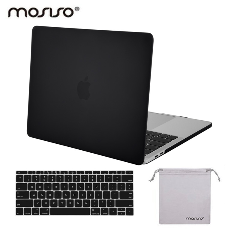 цена на MOSISO Laptop Hard Case for Macbook Pro 13 A1989 A1706 Touch bar Crystal Cover 2016 2017 2018 Mac Pro 13 A1708 Protective Shell