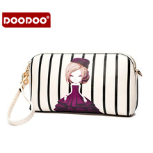 2016 New S/L Size Women Messenger Bags with Cartoon Ladies Bags Purses and Handbags Shoulder Bag Wristlet Clutch Clutches