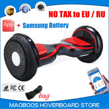 UL certified 10 inch self balance electrico Hoverboard Samsung battery Drift scooter skywalker overboard APP Hover board
