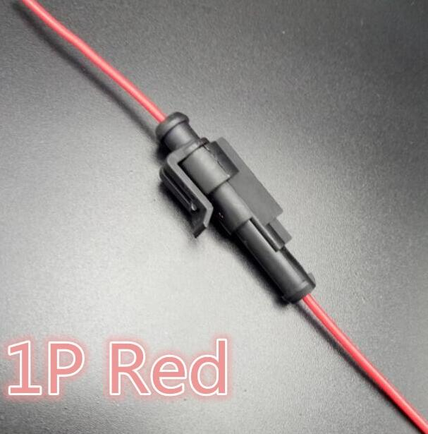 1pin car waterproof electrical connector plug with wire electrical 1pin car waterproof electrical connector plug with wire electrical wire cable car motorcycle in connectors from lights lighting on aliexpress publicscrutiny Images
