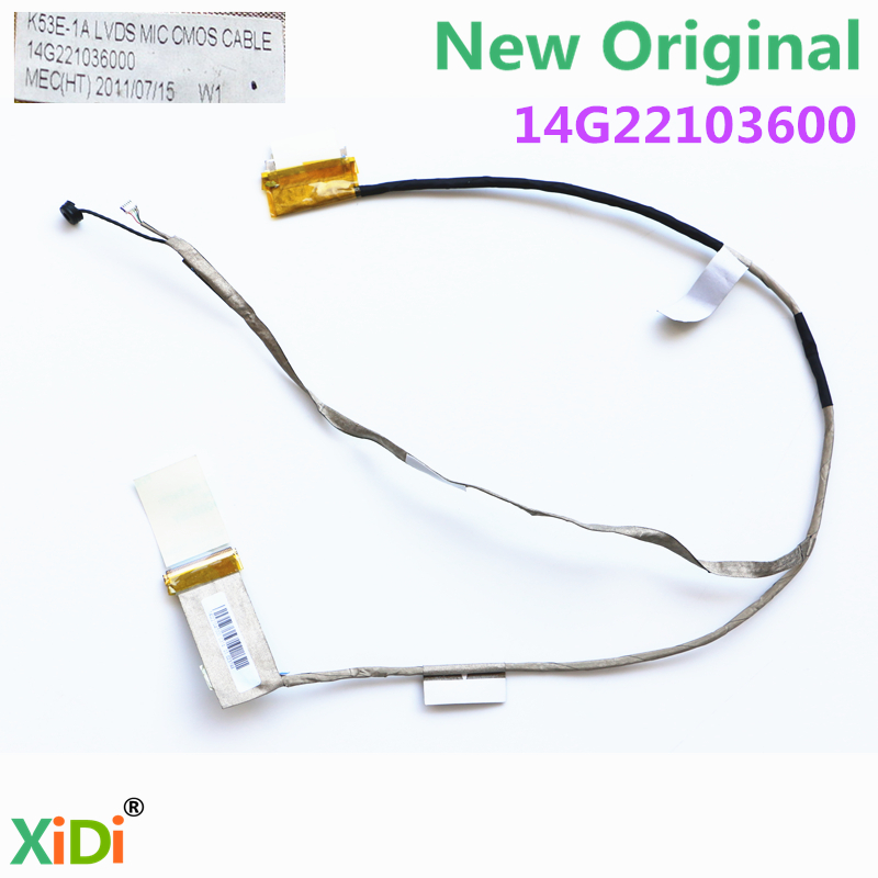 NEW K53E-1A 14G22103600 P53 LVDS CABLE FOR ASUS X53S K53E A53S P53 X53 K53S X53SJ X53SV LCD LVDS CABLE