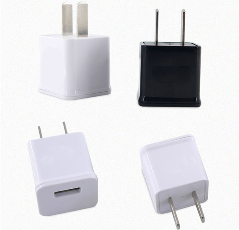 Travel Charge USB Phone Charger for iPhone Samsung Wall Charger Wall Charger 5V AC USB P ...