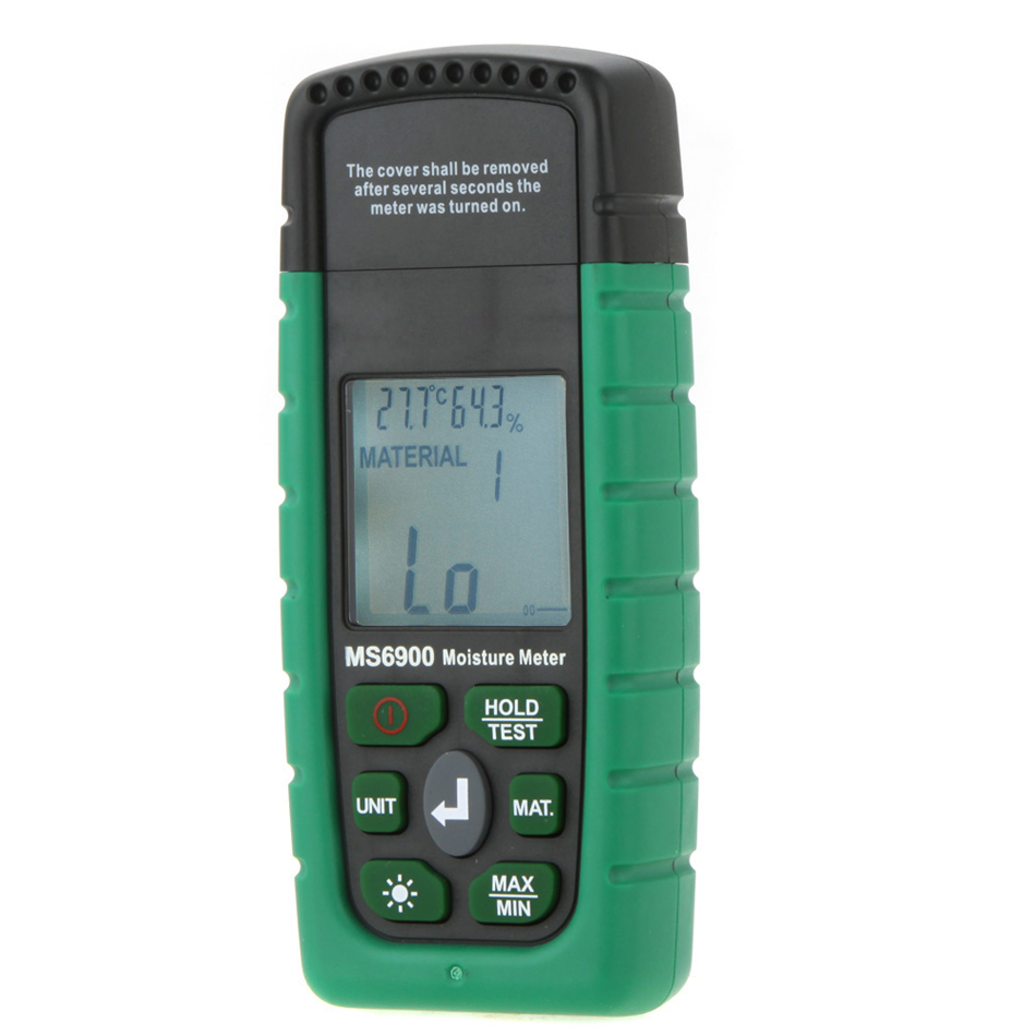 New MS6900 Portable Digital Timber Wood Moisture Meter Tester LCD Hygrometer Tester Temperature Humidity Meter насос belamos brs 25 6g 180мм