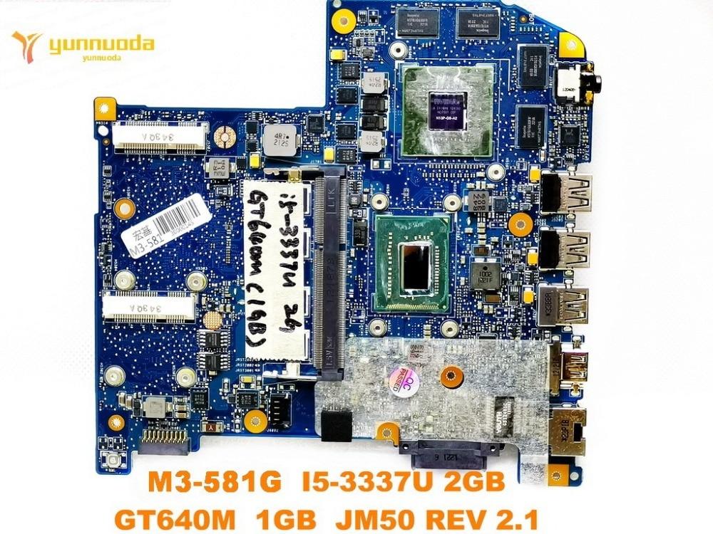 Original for font b ACER b font M3 581TG laptop motherboard M3 581TG I5 3337U 2GB