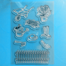 YLCS156 Tools Silicone Clear Stamps For Scrapbooking DIY Album Paper Cards Making Decoration Embossing Rubber Stamp 11x16cm