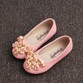2017 Autumn Toddlers Girls Flowers Shoes Slip on Girls Children's Flats Flower Girls Princess Shoes Kids Girls Ballet Shoes
