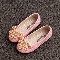 2017 otoño niños niñas flores shoes resbalón de las muchachas de los niños pisos flor niñas princesa shoes kids girls ballet shoes
