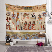 New Ancient Egypt Indian Tapestry Wall Hanging Bohemian Beach Towel Polyester Thin Blanket Yoga Shawl Mat 5 sizes