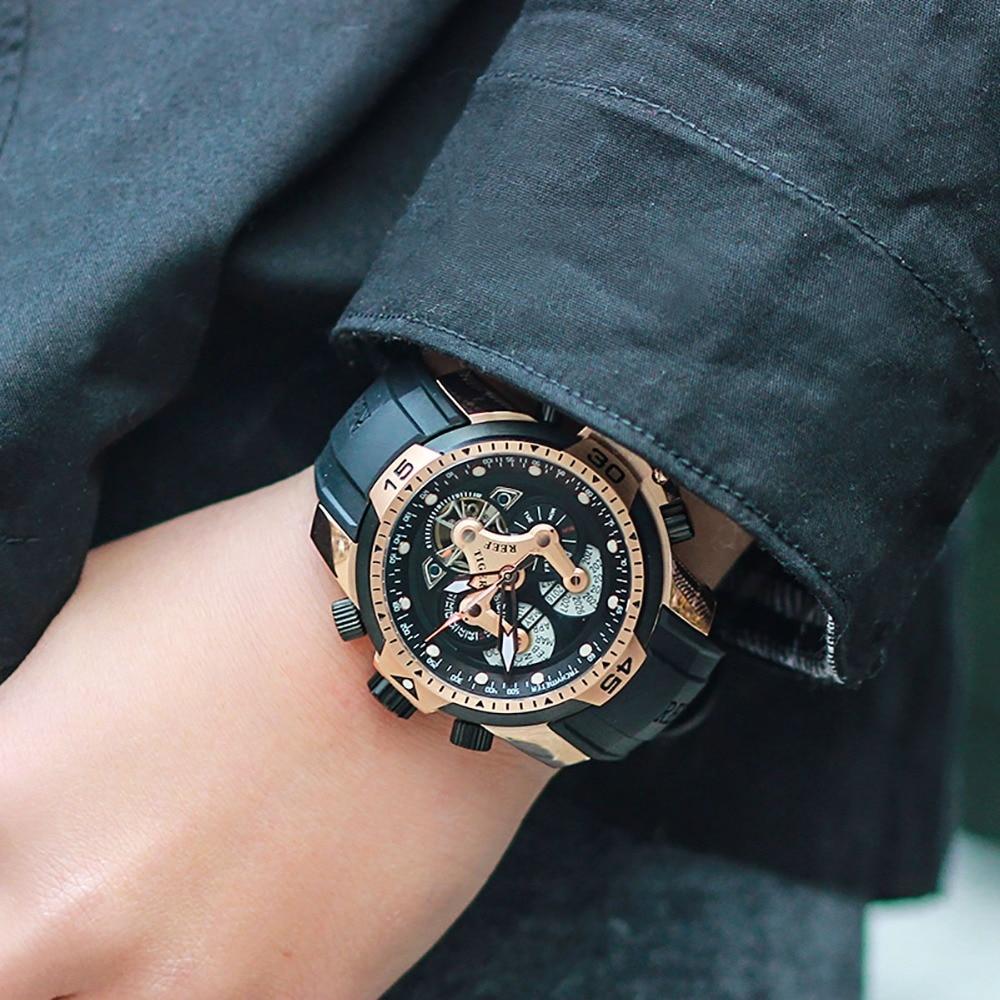 Reef Tiger / RT Męskie Zegarki Sportowe z Skomplikowaną Tarczą - Męskie zegarki - Zdjęcie 2