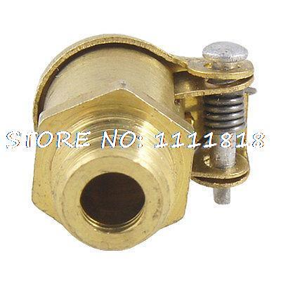 5/32 Inner Thread Spring Cap Grease Oil Cup Gold Tone New