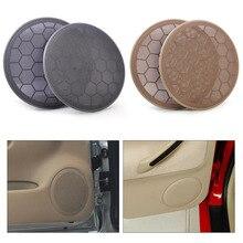 beler 2Pcs  Door Loud Speaker Cover Grill 3B0868149 for VW Beetle Passat B5 Jetta MK4 Golf GTI 1999 2001 2002 2003 2004 2005