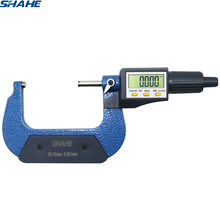 Shahe 50-75 мм 0,001 мм электронный наружный микрометр с розничной коробкой микрон наружный микрометр 50-75 мм