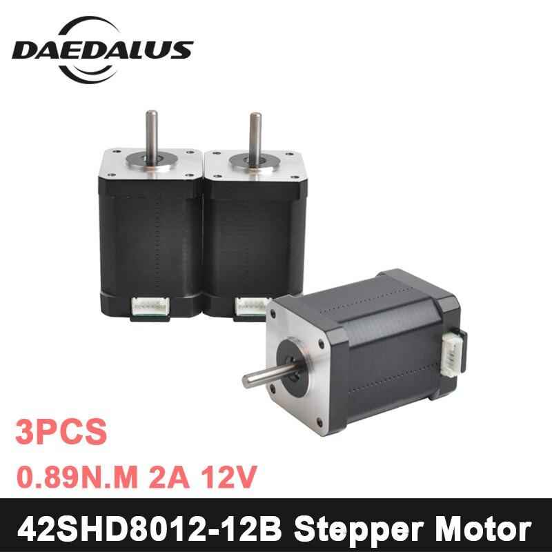 42SHD8012 12B Nema17 Stepper Motor 42 Motor Nema 17 Motor 0 89N m 2A Motor 2