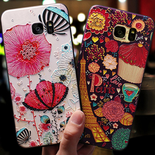 Coque,cover,case For Samsung galaxy s6 Edge s6edge Silicon S