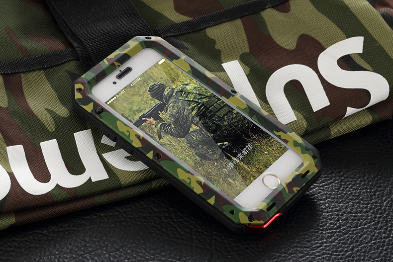 HTB1zsaweHGYBuNjy0Foq6AiBFXaE Heavy Duty Protection Doom armor Metal Aluminum phone Case for iPhone 11 Pro Max XR XS MAX 6 6S 7 8 Plus X 5S 5 Shockproof Cover