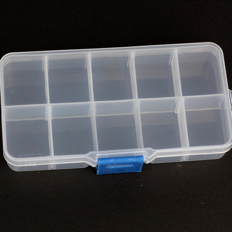 Jewelry Box Organizer Tray Plastic Transparent Fake Eyelashes