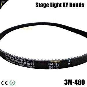 Image 3 - XY opaski reflektor z ruchomą głowicą osi XY pasek na ramię opaski ruchome głowy pas synchroniczny 3M 144 291 375 378 477 480 483