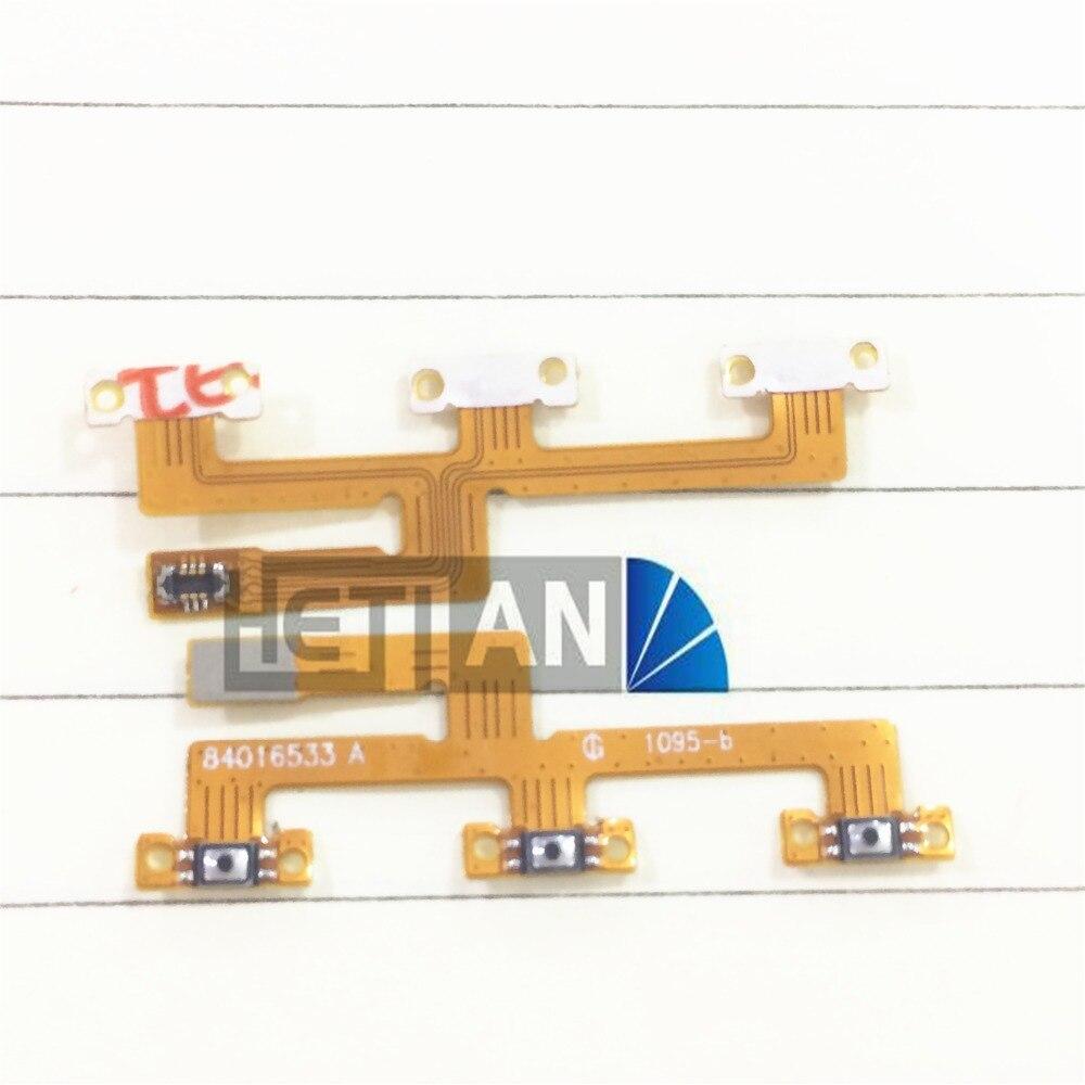 10 pcs Power Button Key Flex Cable For Motorola moto Z XT1650 Power Flex Cable Repair Parts In Cellphone Parts
